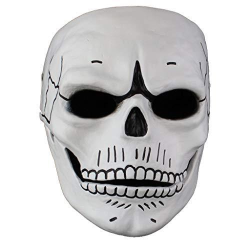 Halloween Horror menschliche Smiley-Maske