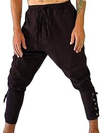 ADELINA Pantalones Sueltos Pantalones Medievales Pantalones Deportivos  Pantalones De Pantalones Ropa Playa Harem Fitness Pantalones Pirata 5d055799d00