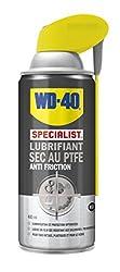 Le Lubrifiant sec au PTFE WD-40 Specialist contient du Poly Tetra Fluor Éthylène qui, en laissant un film sec sur le support, permet une lubrification améliorée sans attirer les poussières, salissures ou huiles. Il sèche rapidement et peut également ...