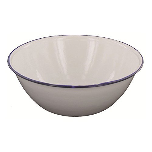 Highlander Enamel Bowl Cookware Camping Catering
