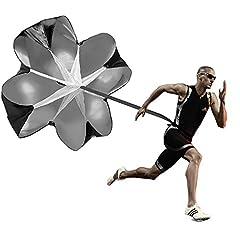 Idea Regalo - Allenamento per la velocità con paracadute – Allenamento per la corsa e la resistenza con paracadute