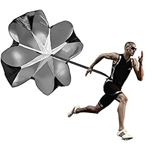Allenamento per la velocità con paracadute – Allenamento per la corsa e la resistenza con paracadute