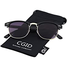 CGID MJ56 Gafas de Sol Clubmaster Wayfarer Retro Mujer Hombre