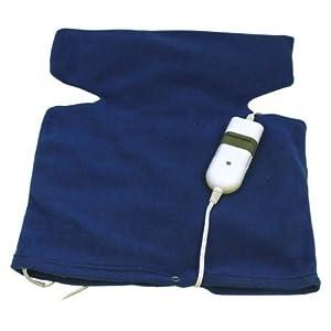 calor: Almohadilla Electrica Tipo Chaleco Terapeutica Cuello Cervicales y Espalda 3 niv...