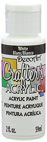 DECO ART-Crafters Acrylic All Purpose Paint. Crafter's Acrylic is a low-cost acrylic paint for simple base-coating and craft projects. Designed to brush out smoothly and evenly, it covers in 1 or 2 coats. Crafter's Acrylic is versatile and can be use...