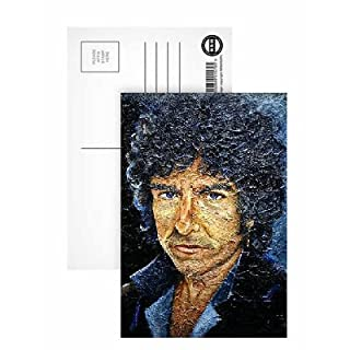 Dylan (b.1941) (oil acrylic on alabastine on.. - Postcard (Pack of 8) - 6x4 inch - Art247 Highest Quality - Standard Size - Pack Of 8