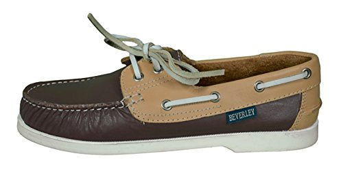 Beverly Originals Chaussures bateau Cuir Homme Men's Casual Colour