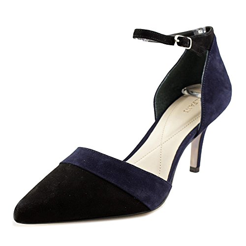 Alfani Open Toe Heels (Alfani Womens Jorrdyn Suede Pointed Toe Ankle Strap Classic Pumps)
