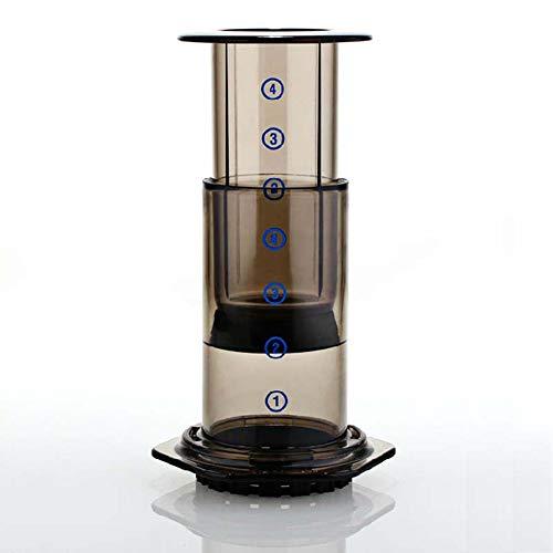 Tragbar Handdruck Kapsel-Kaffeemaschine, Handbuch Drucktopf Ilter, Handschlag Kaffee Tropftopf...