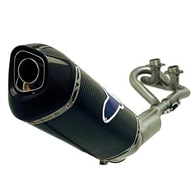 Pot Termignoni Yamaha 530 Tmax Carbone - Carbone (homologue)