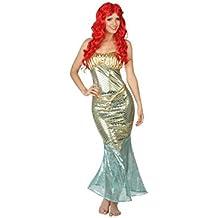 Atosa 26677 - disfraz tema: sirena, T-3, adulto