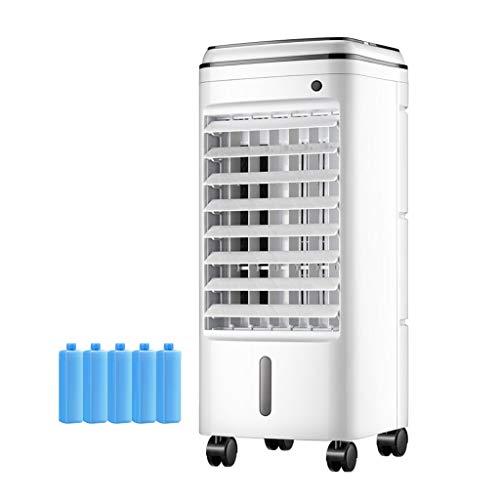YWARX Portable Rafraîchisseur d'air, humidificateur et purificateur d'air, 3 Vitesses - Grand Angle Oscillation - minuterie de 7.5h - réservoir de 6 L - 75W,Mechanical