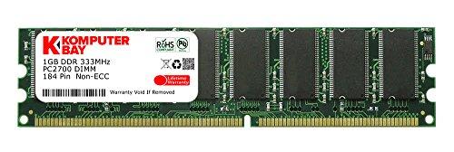 Komputerbay 1 GB DIMM (184 PIN DDR 333Mhz (DDR333, PC2700), für HP Hewlett Packard HP/Compaq Pavilion t370.se 1 GB Pavilion 1g Pc