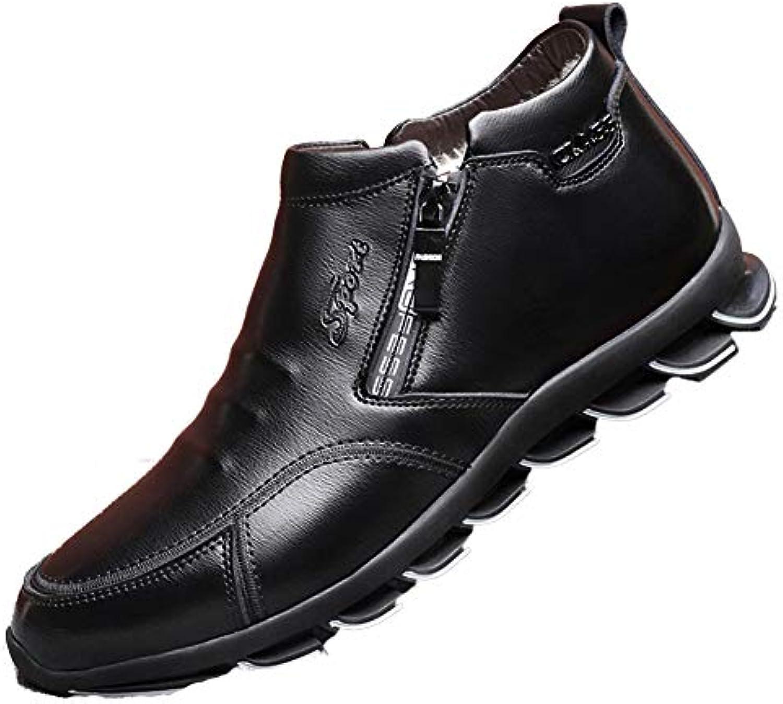 Mens Winter Bean scarpe Comodo Stivaletti Warm Leather Casual scarpe Wool Cotton Snow stivali Stivaletti Mocassini... | Bel design  | Sig/Sig Ra Scarpa