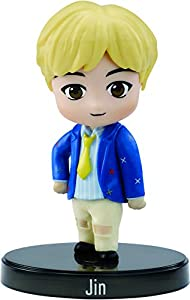 BTS mini figura de vinilo Jin, miembro banda coreana (Mattel GKH76)