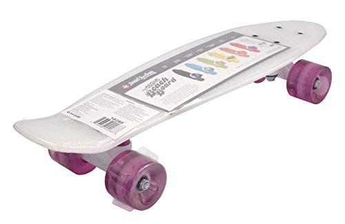 Streetsurfing Street Surfing Skateboard Beach Board, Milky Purple, 56 cm (Street Board Skateboard)