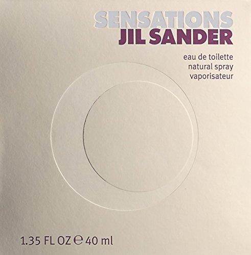 Jil Sander Sensations EDT Eau de Toilette Spray, 40 ml