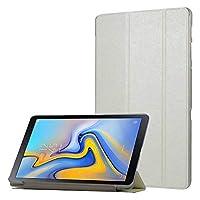 Samsung Galaxy Tab A T590 T595 T597 10.5 inch Standlı Kılıf Beyaz, imonya