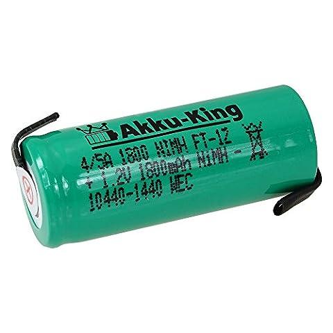 Akku-King Akku für Braun Oral-B Triumph 5000 Wireless Smartguide, Professional Care 8500 - 1.2V NI-MH 1800mAh - 43 x 17 mm