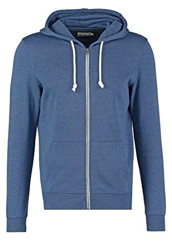 PIER ONE Sweatshirt Jacke Herren in Blau, Größe XL (Ralph Design-stoff Lauren)