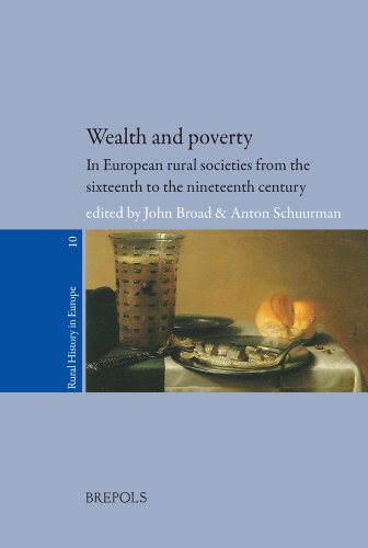 Wealth and Poverty in European Rural Societies from the Sixteenth to Nineteenth Century par (Broché - Aug 6, 2014)