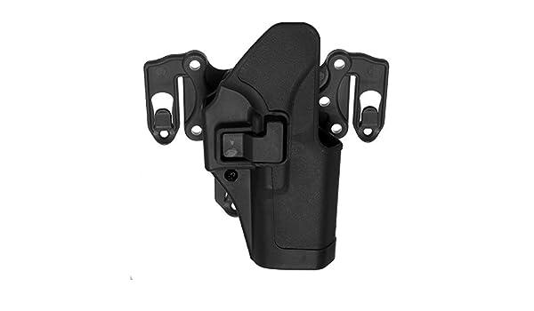 Noir MASUNN Gauche /À Droite Ceinture /Étui Avec Molle Plate-Forme Pour Glock 17 18 19 22 23 31