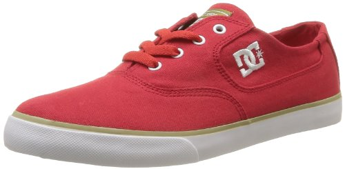 DC FLASH TX M ESU 302911 Herren Sneaker Rot (RED / WHITE)