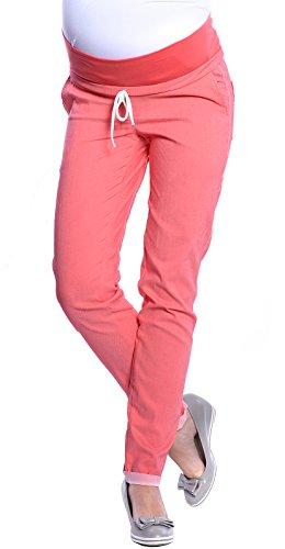 Rosa Umstandshose Jeans mit Schleife