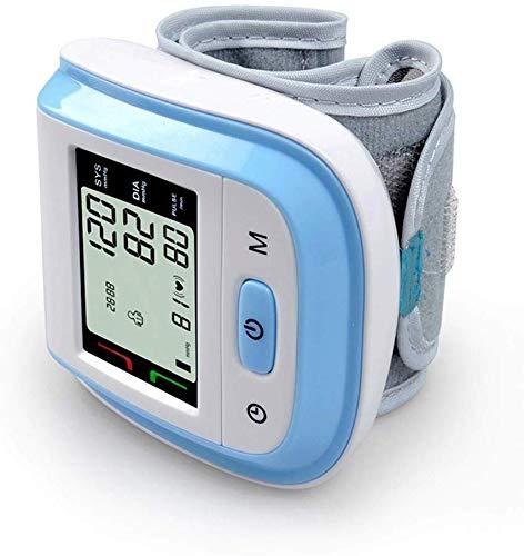 Wivilly Handgelenkblutdruckmessgerät Nach Hause LCD-Anzeige Digitales Messgerät Intelligente Automatische Blutdruckpuls Blutdruckmeßgerät