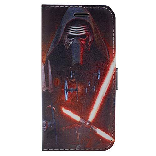 iPhone 6/6s Star Wars PU Lederner Schlag Mappen Hülle / Hülle Mit Magnetband für Apple iPhone 6S 6 / Schirm-Schutz und Tuch / iCHOOSE / Kylo Ren Tie Fighters