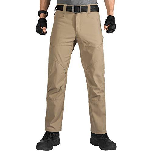 FREE SOLDIER Herren Militär-Arbeitshose Outdoor Nylon Ripstop Arbeitshose mit Reißverschlusstaschen, Herren, mud, XX-Large 37W/31L Urban Camo Bdu