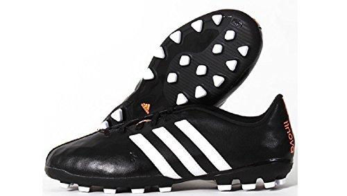 adidas, Scarpe da calcio uomo (Black-White-Flash orange)