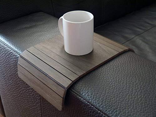 Holz sofa armlehnentisch in vielen farben wie wenge Armlehnentablett Moderner tisch für couch Klein schleichendes sofatisch Armlehne flexibel tablett Falten couchtisch Kleine tische für das wohnzimmer