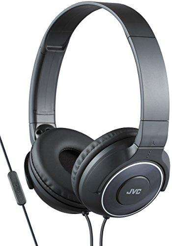 JVC HA-SR225-E Casque Léger Superior Sound avec Télécommande et Micro - Noir