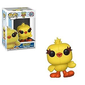 Funko- Pop Vinilo: Disney: Toy Story 4: Ducky Figura Coleccionable, Multicolor, Talla única (37399)