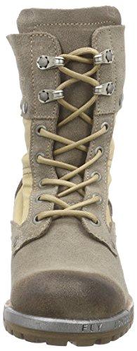 FLY London Luga Damen Desert Boots Mehrfarbig (TAUPE/BEIGE 006)