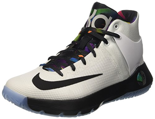 Nike Herren KD Trey 5 IV Basketball Turnschuhe, Blanco (White / Multi-Color-Black-Total Orange), 44 EU