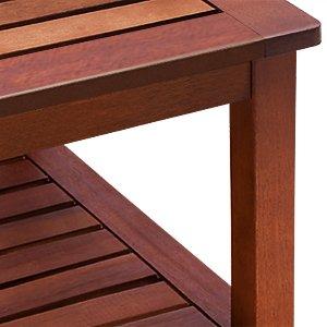Beistelltisch vorgeölt Akazienholz Gartentisch