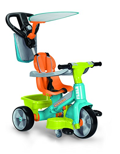 FEBER - Triciclo Baby Plus Music 360, multicolor (Famosa 700012260)