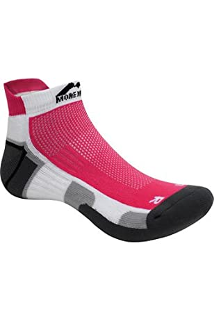 More Mile San Diego Running Socks Mens Womens Cushioned Trainer Sports Sock/'s