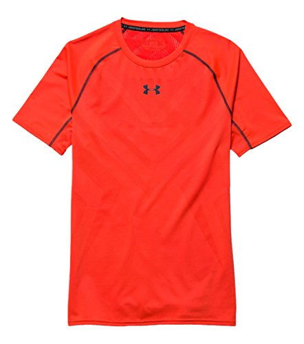 Tank Vent (Under Armour Herren Fitness T-Shirt und Tank Vent Comp Short Sleeve, Bon/Ady, XL, 1253739)