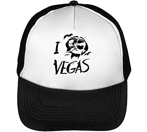 Fear Loathing In Las Vegas LSD Lsdesign Trucker Cap Herren Damen Schwarz weiß Snapback