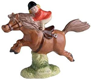 Thelwell THE GREATEST BROWN Girl on Pony by John Beswick
