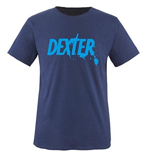 Dexter - Herren Unisex T-Shirt Navy / Blau