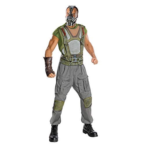 Rubies Costume Co R880670-M Mens Batman DLX Bane Adult Costume MEDIO
