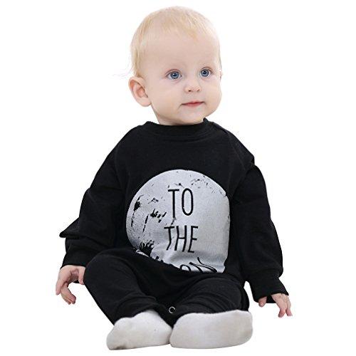 by Mädchen und Jungen Strampelhöschen Kleidung Ein Stück Baby strampler Frühling Fallen Baby Tücher für 2T-3T Monate (Herbst-festival-halloween-spiele)