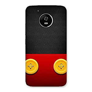 Premium Gamers Pad Back Case Cover for Moto G5