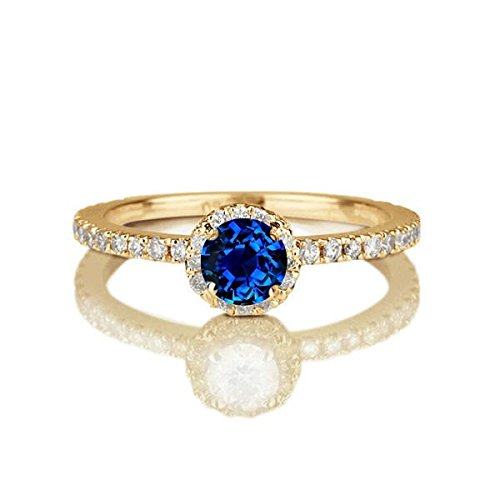 150-carat-round-cut-sapphire-and-diamond-halo-engagement-ring-in-10k-yellow-gold