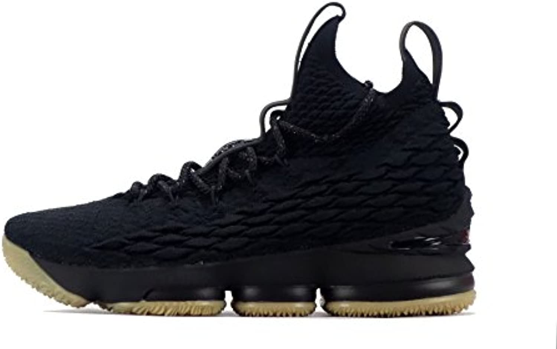 Nike 897648 001 - Zapatillas de Baloncesto de Malla Para Hombre Black/Black/Gum Light Brown 40 EU