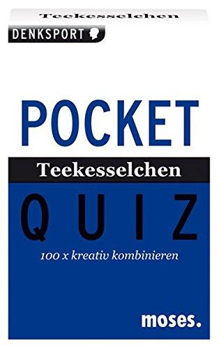 Preisvergleich Produktbild Pocket Quiz Teekesselchen: 100 x kreativ kombinieren (Pocket Quiz / Ab 12 Jahre /Erwachsene)